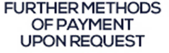 Further methods of payment union request