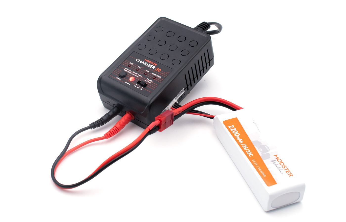 Ladegerät AC MODSTER 30 Charger LiPo 2 4S 3A 30W