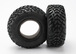 Tires, Ultra soft, S1 compound for off-road racing, SCT dual profile 4.3x1.7- 2.2/3.0  (2)/ foam inserts (2)