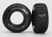 Tires, BFGoodrich® Mud-Terrain T/A® KM2 , ultra-soft (S1 off-road racing compound) (dual profile 4.3x1.7- 2.2/3.0 ) (2)/ foam inserts (2)