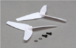 Tail Rotor Blade Set (2), White: Blade 200 SR X