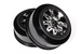 2.2 3.0 Raceline Renegade Wheels - 34mm (Chrome/Black) (2pcs)