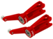 CNC AL Main Blade Grip Set (Red) - Blade 230 S
