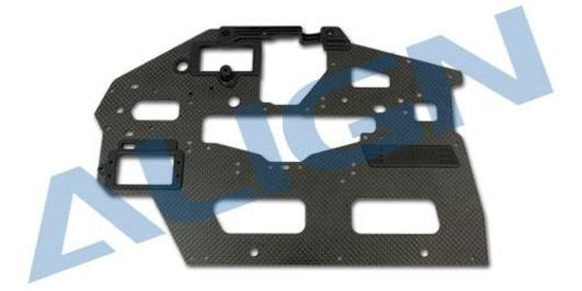 Chassis Seitenteil Carbon (R) / 2.0mm T-Rex 550L