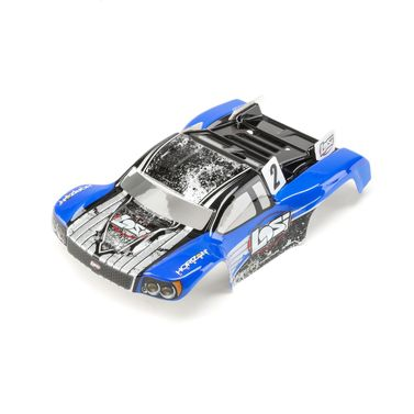 1/24 4WD Micro SCTE Painted Body Blue