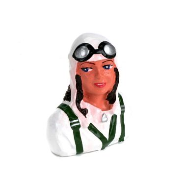 1/9 Pilot, Meredith with Helmet & Goggles