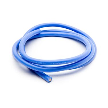 10AWG Silicone Wire 3, Blue