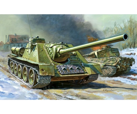 1:100 Self-propelled Gun SU-100