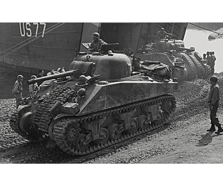 1:100 US-Medium Tank M-4A2 Sherman
