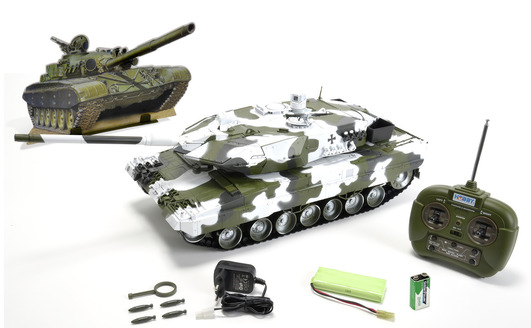 1:16 Leopard 2A6, 27 MHz, 100 RTR