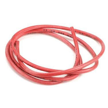 13AWG Silicone Wire 3. Red