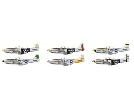 1:48 Mustang P51 D/K Pacific Aces