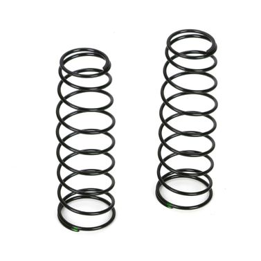 16mm RR Shk Spring, 3.8 Rate, Green(2): 8B 3.0