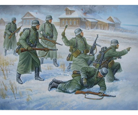 1:72 Deutsche Infanterie (Winteruniform)