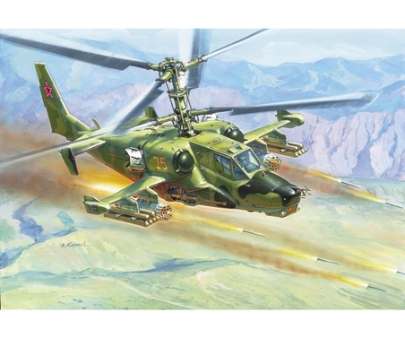 "1:72 Russ. Attack Helicopter ""Hokum"""