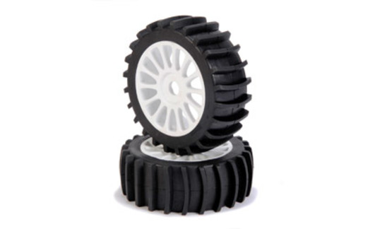 1:8 Reif.-/Felgen Set Beach Tires 2 St.