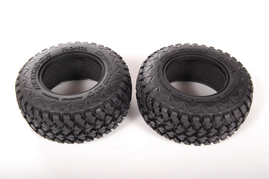 2.2 3.0 Hankook Dynapro Mud Terrain Tires 41mm - R35 Compound (2pcs)