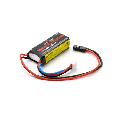300mAh 2S 6.6V Li-Fe Receiver Battery