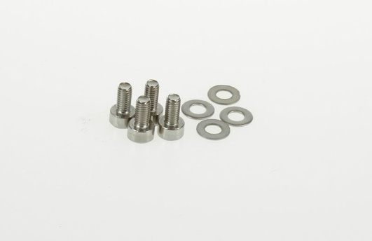 3mm x 6mm motor screws/washers (4)