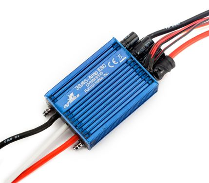 45A Brushless Marine ESC: Single Battery