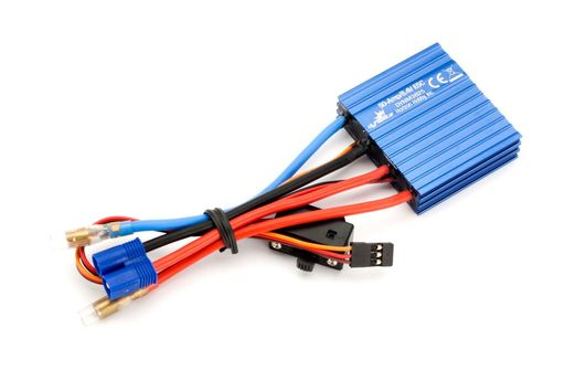 50A Brushed ESC: Single Battery