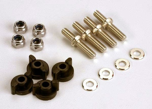 ANCHORING PINS WITH LOCKNUTS (