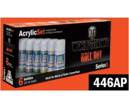 Acryl Set World of Tanks Roll Out