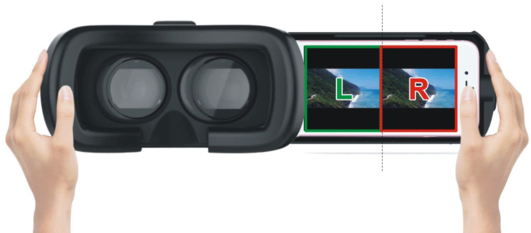 Align 3D Virtual Reality (VR) Goggle