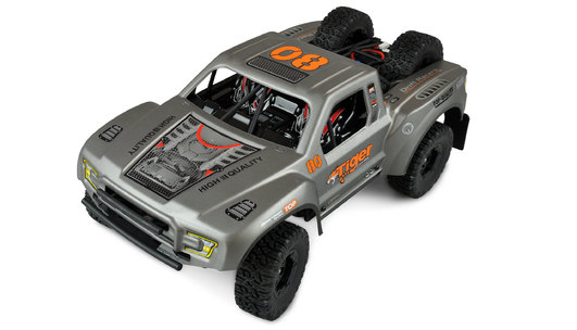 Amewi SC12 Elektro Brushed Short Course 4WD 1:12 RTR silber