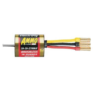 Ammo 28-35-2700 kV Brushless Motor Innenläufer