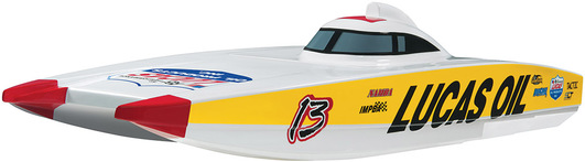AquaCraft Lucas Oil Speed-Katamaran 2.4GHz RTR