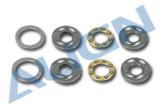 Axial Bearing D5/12X4 +Spacer 2Pcs