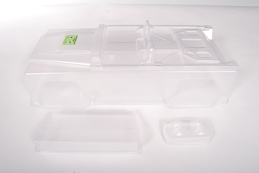 Axial Dingo Truck Body - .040 uncut (Clear) - Body Only