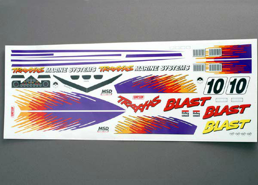 BLAST DECAL SET