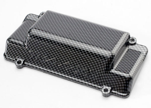 Battery Box Cover, bumper (rear), Exo-Carbon finish (Jato)