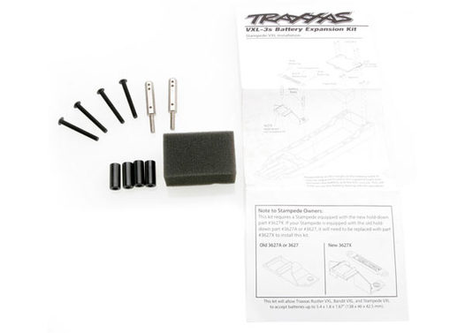 Battery expansion kit (allows for installation of taller multi-cell battery packs) (Rustler, Bandit, Stampede)