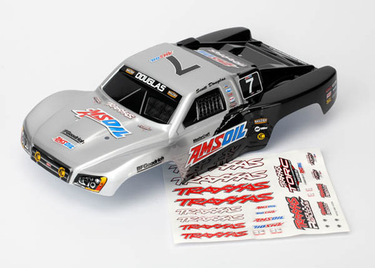 Body, Amsoil, 1/16 Slash (painted, decals applied)