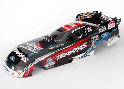 Body, Ford Mustang, Courtney Force (painted, decals applied)