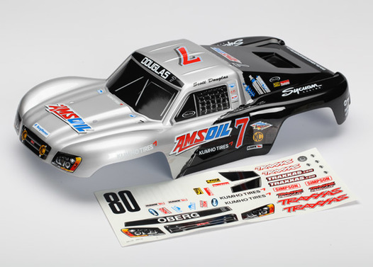 Body, Scott Douglas/Mike Oberg, 1/16 Slash (painted, decals applied)