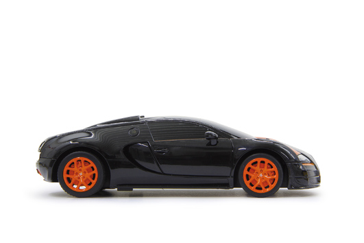 Bugatti Veyron Grand Sport Vitesse 1/18 schwarz orange