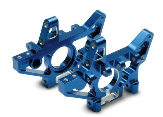 Bulkheads, rear (machined 6061-T6 aluminum) (blue)(l&r) (requires use of 4939X suspension pins)