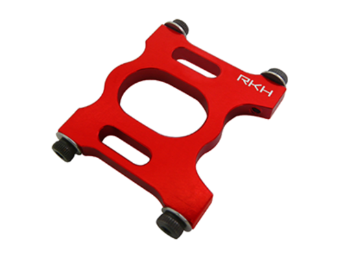 CNC AL Main Motor Mount Set (Red) - Blade 200SRX