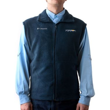 Cathedral Peak Vest Blue X-Large