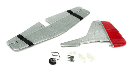 Complete Tail w/Accessories UM P51D Mustang AS3X