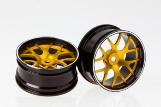 Corvette GT2 Felgen CNC Alloy Golden (2 Stk.)
