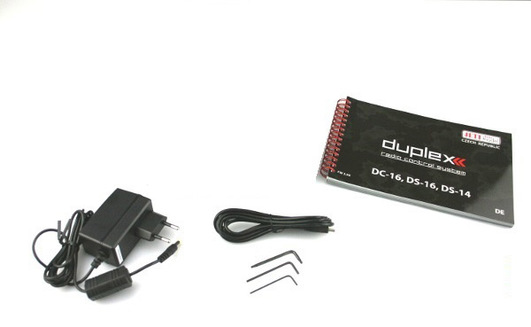 DC-24 duplex 2.4 GHz Jeti Carbon Line Dark Red Multimode
