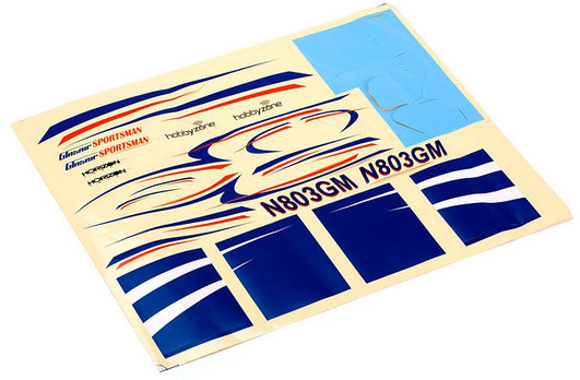 Decal Sheet Glasair Sportsmann