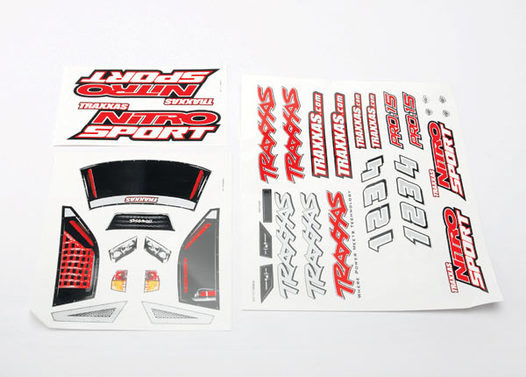 Decal sheets, Nitro Sport