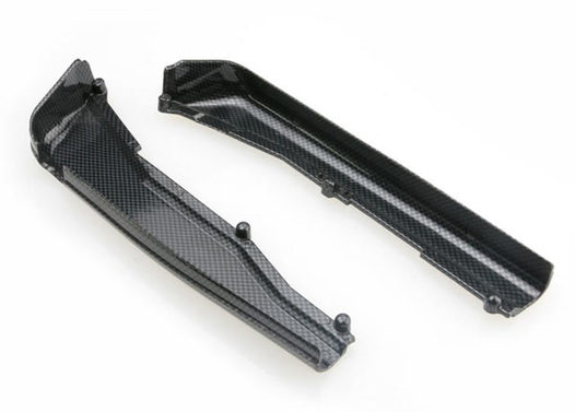 Dirt Guards, left & right, Exo-Carbon finish (Jato)