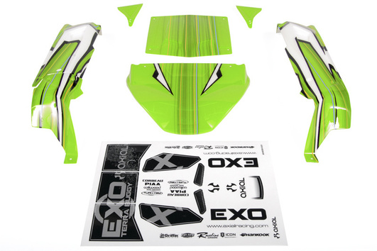 EXO Terra Buggy Body - .040 (Pre-Printed Green)
